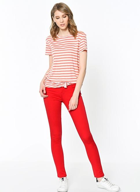 Lee Cooper Pantolon | Amy - Skinny Kırmızı